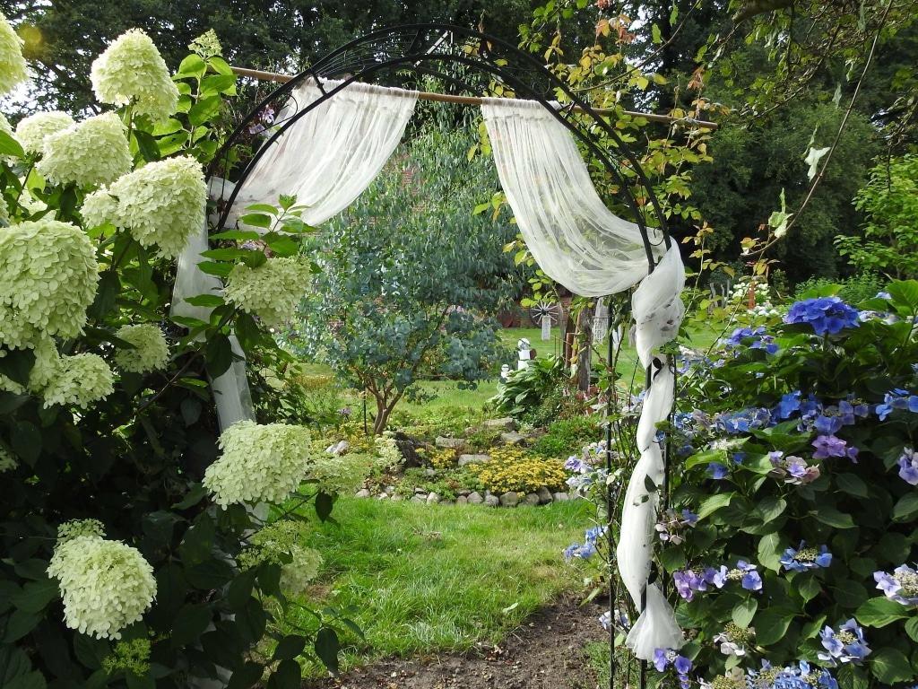 Private Gärten - entdecken und erleben - 2017 auch bei Margret Matthias/Steinblattwerk in Selsingen - vier Termine