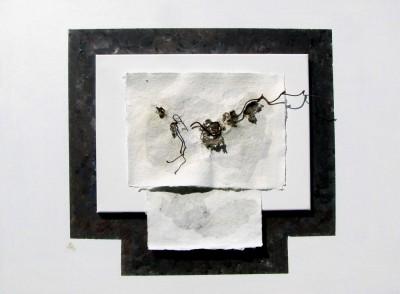Petra Decker-Schimanski: Papier-Metamorphose, Foto Winser Museumshof 2015