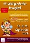44. Honigfest in Wietzendorf am 23. und 24.September2017