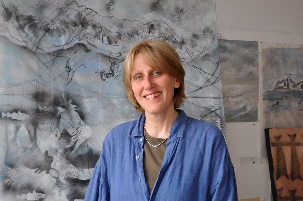Die Künstlerin Ursula Blancke-Dau