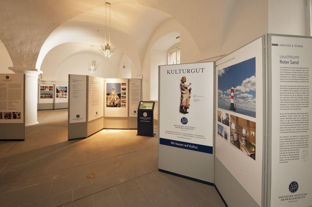 """Ausstellung """"Seht, welch kostbares Erbe!"""" © Marie-Luise Preiss/Deutsche Stiftung Denkmalschutz"""