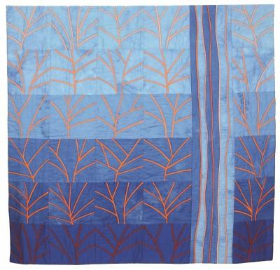 """Quilt """"Coral Reef"""", Gabriele Latz, Foto: Bomann-Museum"""