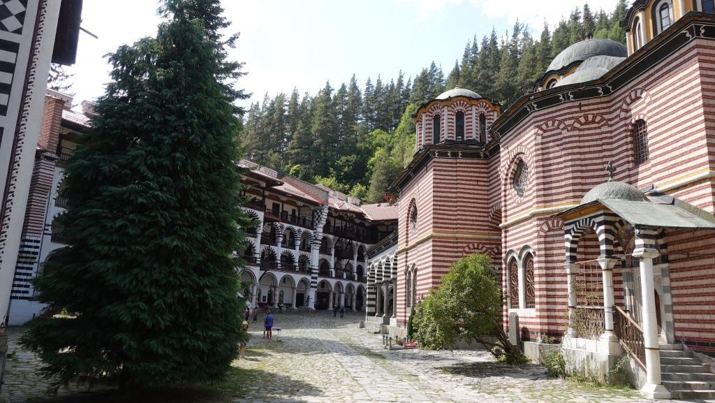 Kloster Rila - Innenhof