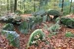 Der Weg führt den Wanderer durch den Schieringer Forst an fünf Großsteingräbern vorbei Foto: Andrea Schmidt