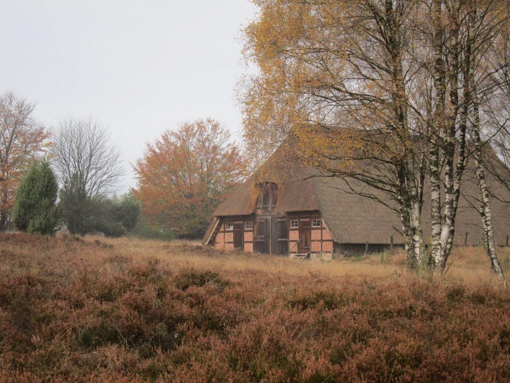 Herbststimmung am Schafstall in Timmerloh