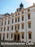 Schlosstheater Celle Fassade mit Eingang