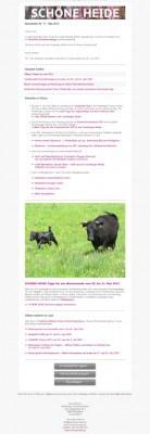 Mai-Newsletter von www.schoene-heide.de