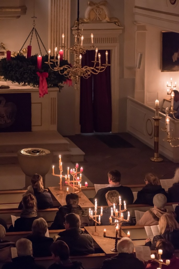 Vorweihnachtlicher Siebensterngottesdienst in der Dreikönigskirche in Bad Bevensen Foto: Markus Tiemann