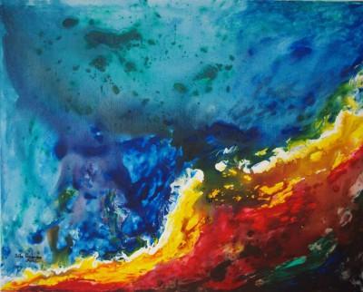 Öl-/Acrylgemälde von Sita Hamann aus Melbeck