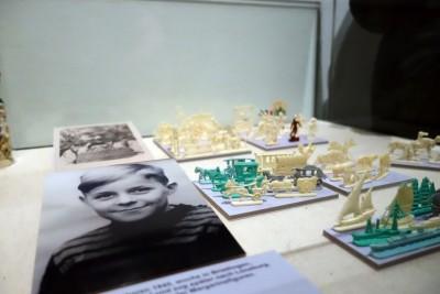 Margarinefiguren in der Ausstellung Höker und Kaufleute auf dem Lande, Foto: Museumsdorf Hösseringen