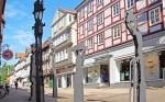 In Celle sprechen die Laternen und erklären Gästen und Touristen die Stadt (Copyright: Celle Tourismus und Marketing GmbH)