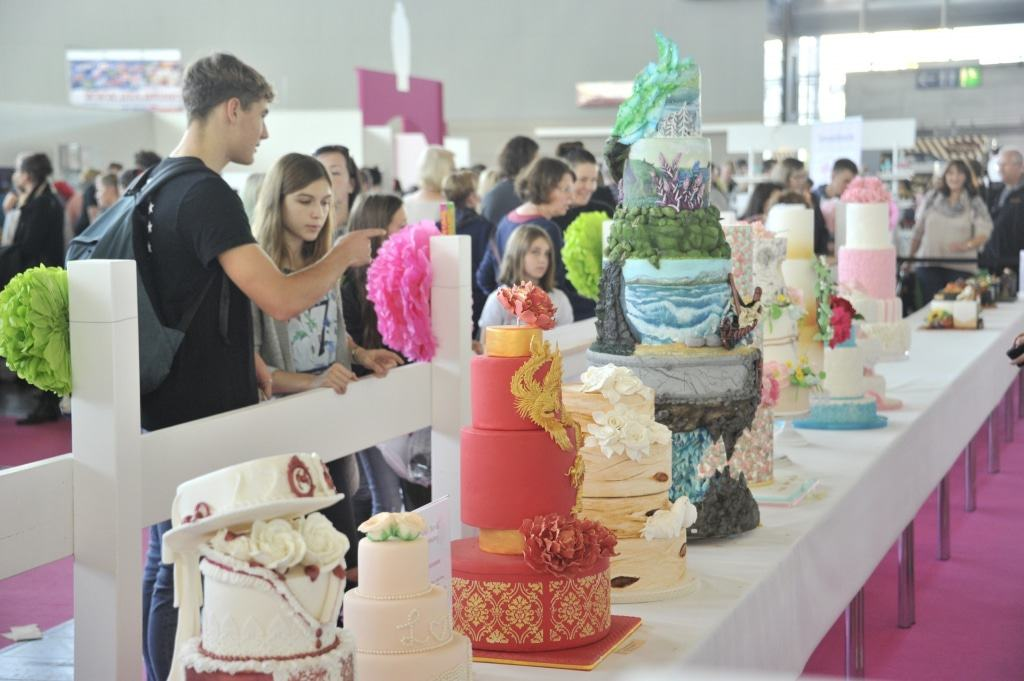 Sweet infa– World of Cakes: das Highlight für alle, die gerne backen, verzieren und kosten. Foto: Fachausstellungen Heckmann