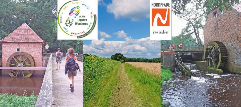 Tag des Wanderns 2019: Wanderung auf dem NORDPFAD Zwei Mühlen