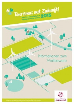 Plakat Wettbewerb Tourismus mit Zukunft Niedersachsen 2015