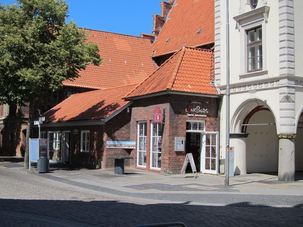 Touristinformation im Lüneburger Rathaus am Markt