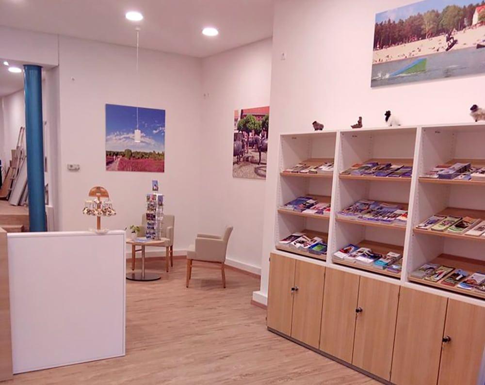 Innenansicht - Touristinformation Wittingen, Foto: Südheide Gifhorn GmbH
