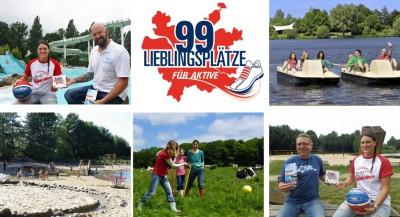 Pia Mankertz und fünf der 99 Lieblingsplätze für Aktive aus dem Landkreis Rotenburg (Wümme) – © www.TouROW.de
