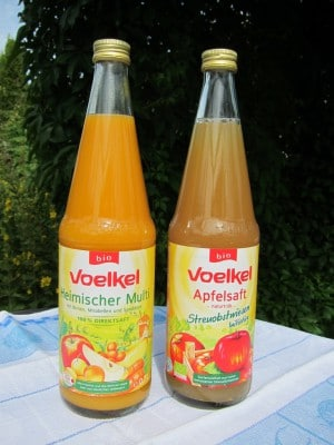Voelkel-Bio-Fruchtsaft Heimischer Multi und Apfelsaft naturtrüb aus Bio-Streuobst