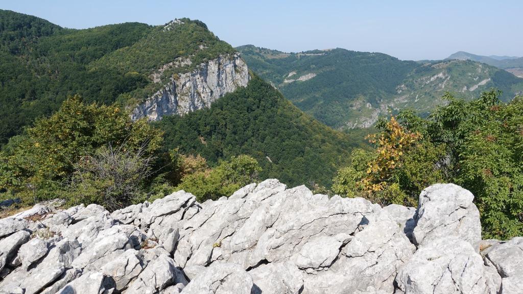 Karstlandschaft im Naturpark Vrachanski Balkan