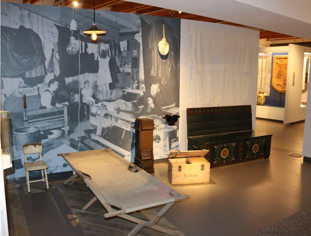 Blick in die Ausstellung Foto: Ostpreußisches Landesmuseum