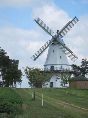 Gallerieholländer-Windmühle in Neuenkirchen-Sprengel