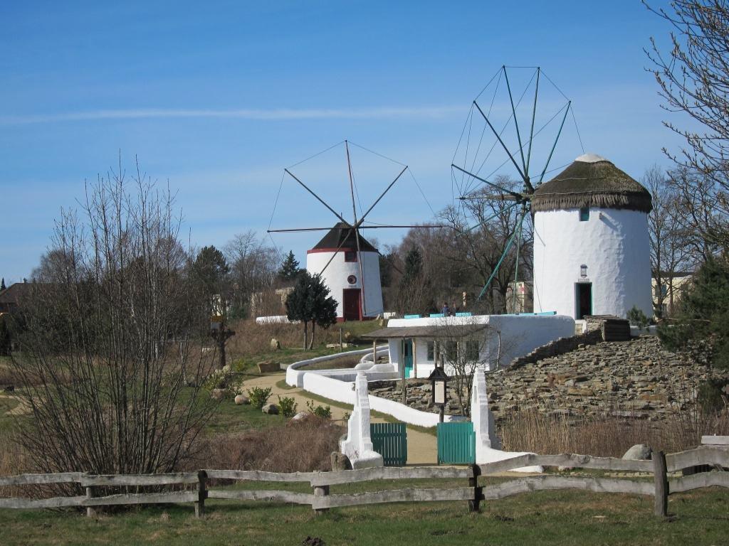 Ebenfalls im Mühlenmuseum zu sehen: Windmühlen aus Griechenland und Portugal